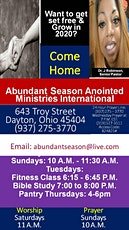 Growth at Abundant Season 2020! tickets