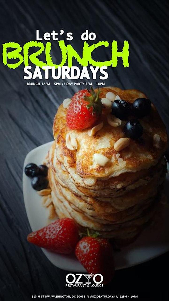 Ozio Saturdays Brunch & Day Party image