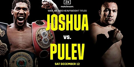LIVE@!.MaTch ANTHONY JOSHUA V KUBRAT PULEV FIGHT LIVE ON 12 DEC 2020 tickets