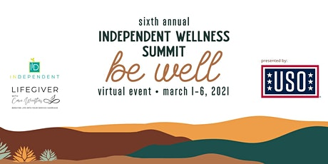 InDependent Wellness Summit™: Be Well bilhetes