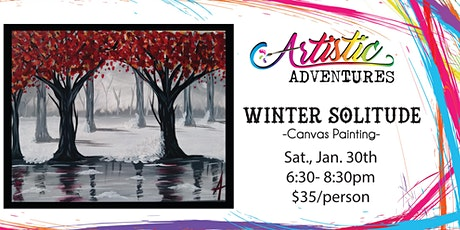Winter Solitude- Canvas Painting Class tickets
