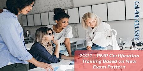 PMP Training in Richmond, VA Based on New Exam Pattern tickets