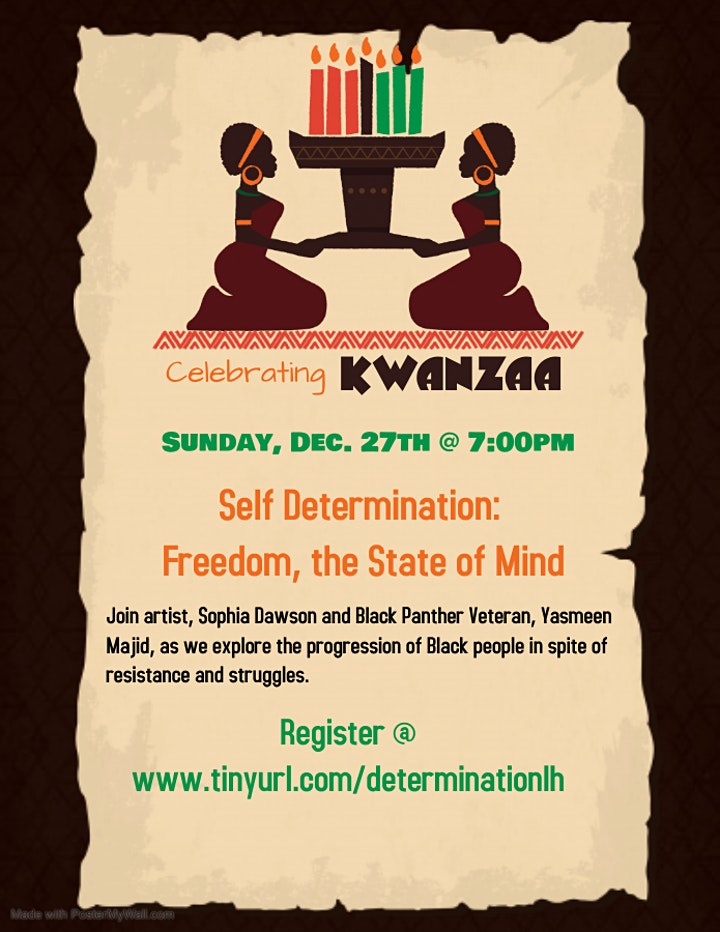 Kwanzaa: Self Determination: Freedom, the State of Mind image
