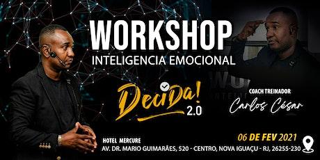 Treinamento de Inteligência Emocional - Decida 2.0 bilhetes