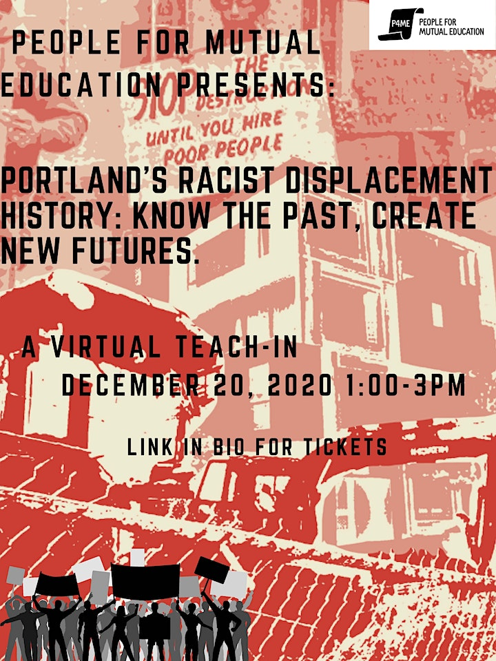 Portland's Racist Displacement History: Know the past, create new futures image