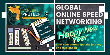 Global Online Speed Networking Event January 2021 tickets
