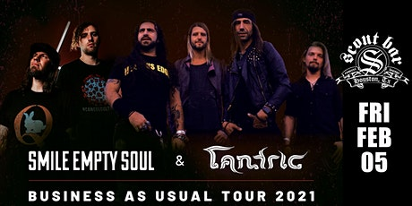 Smile Empty Soul & Tantric tickets