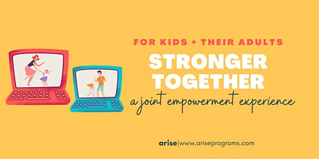 Stronger Together: Self Defense For Kids and their Adults (INTERMEDIATE) tickets