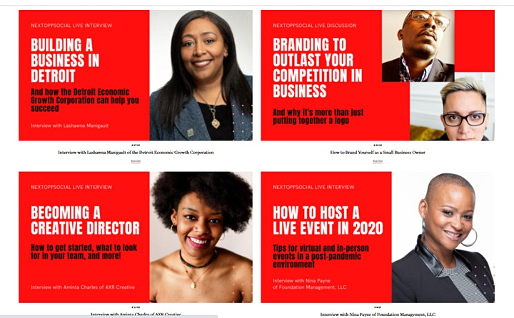 NextOppSocial is a Live Weekly Show for Entrepreneurs by Entrepreneurs image