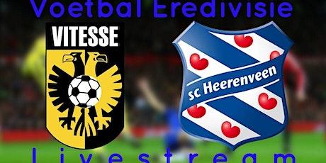 StrEams@!.VITESSE ARNHEM - HEERENVEEN LIVE OP TV 13 DEC 2020 tickets