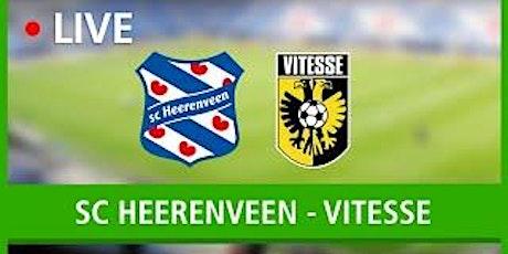ONLINE@!.VITESSE ARNHEM - HEERENVEEN LIVE OP TV 13 DEC 2020 tickets