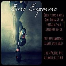Bare Exposure AC Gentleman's Club VIP Guest List Passes