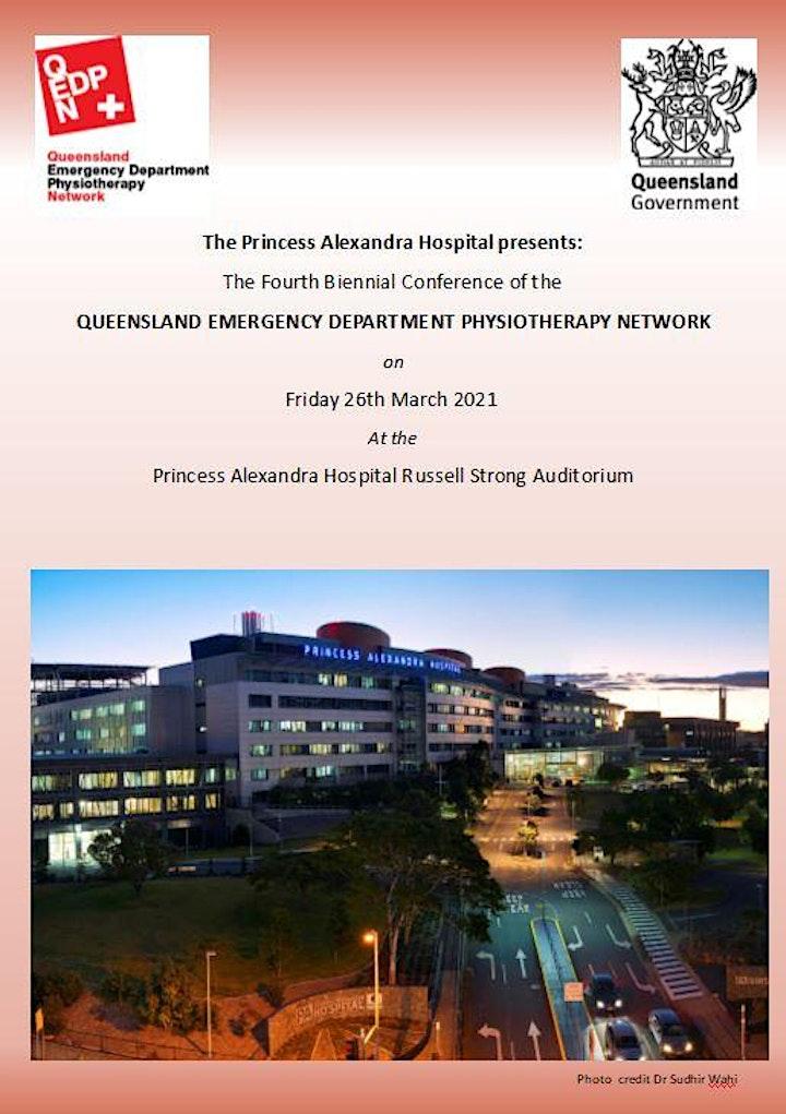 Princess Alexandra Hospital presents the 4th Biennial QEDPN Conference image