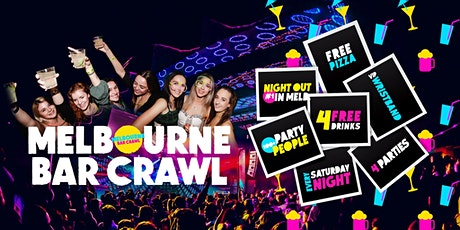 Melbourne Bar Crawl tickets