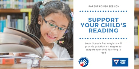 Support your child learning to read tickets