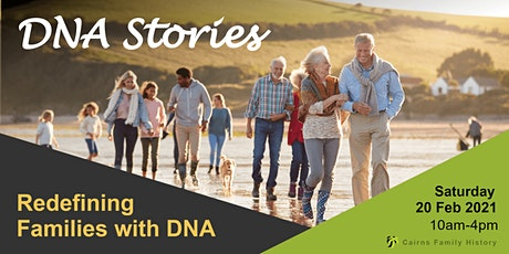 DNA Stories - Redefining Families with DNA tickets