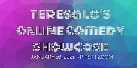 Teresa Lo's Online Comedy Showcase (1.16.21) tickets