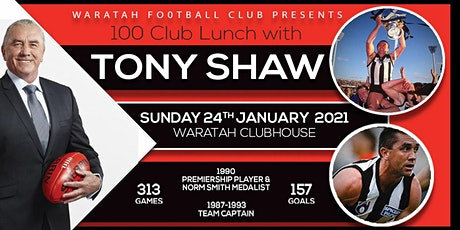 Lunch with Magpies Legend Tony Shaw tickets