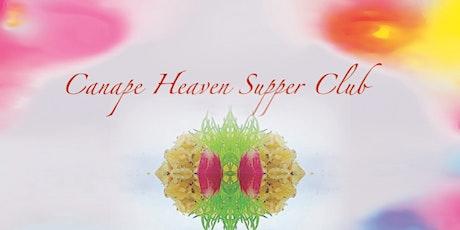 Canape Heaven Supper Club 2021 tickets