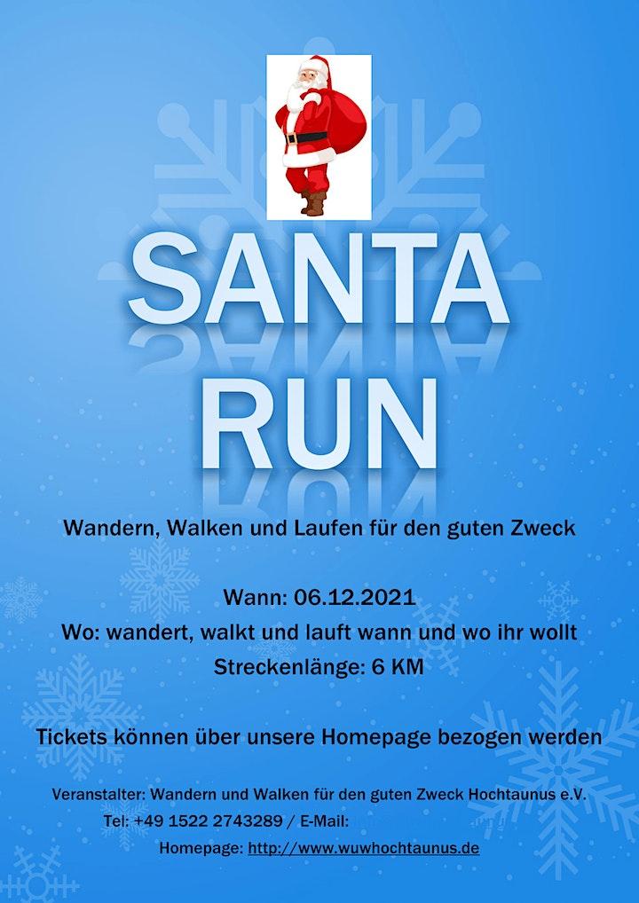 Virtual Santa Run 2021 - Virtual Run für den guten Zweck: Bild