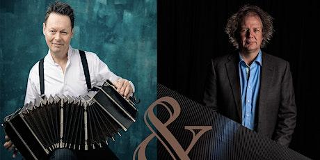 Carel Kraayenhof, bandoneon &  Jeroen van Veen, piano 13-3-2021, 20u tickets