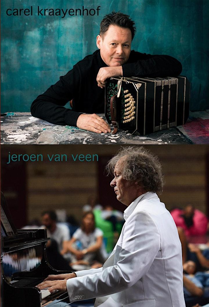 Afbeelding van Carel Kraayenhof, bandoneon &  Jeroen van Veen, piano 13-3-2021, 20u