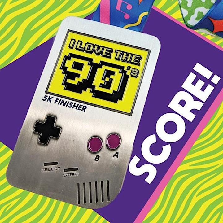 I Love the 90s Virtual 5k/10k Run image