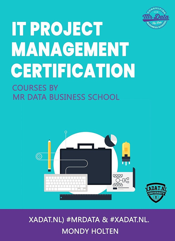 IT project certification couse at MR DATA BUSINESS SCHOOL in Maastricht image