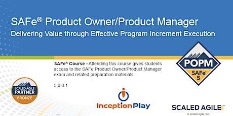 SAFe Product Owner/Product Manager (POPM) - Curso Online en Español entradas