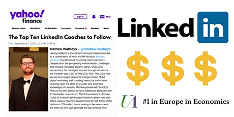 How to Generate the Top Revenue on LinkedIn! (4x webinars = £28 in total) tickets