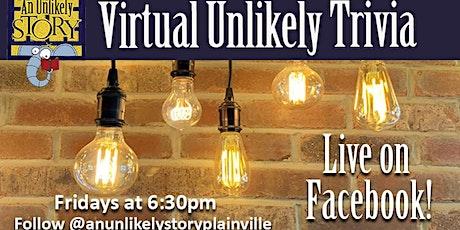 Virtual Unlikely Trivia tickets