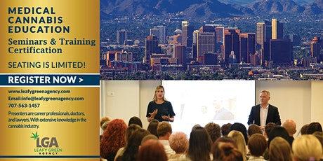 Arizona One Day Medical and Adult Use Marijuana Masterclass Workshop tickets