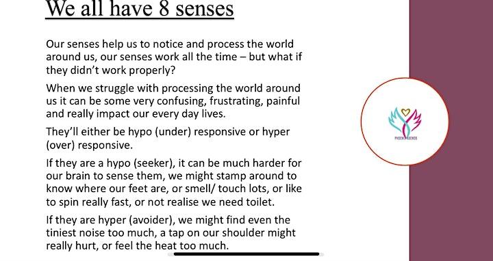 Sensory Processing Awareness Session image