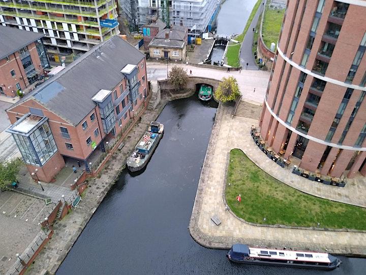 Waterways and Bridges of Leeds - a summer evening walk image