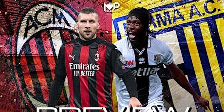 IT-STREAMS@!.AC Milan - Parma in. Dirett Live 13 Dicembre 2020 biglietti
