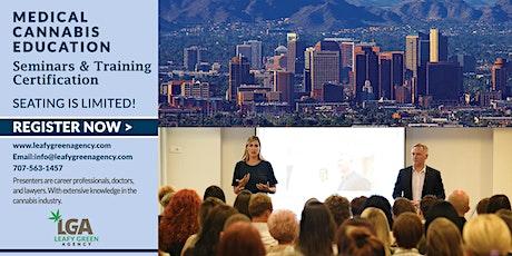 Arizona Medical and Adult Use Marijuana Dispensary Training Seminar tickets