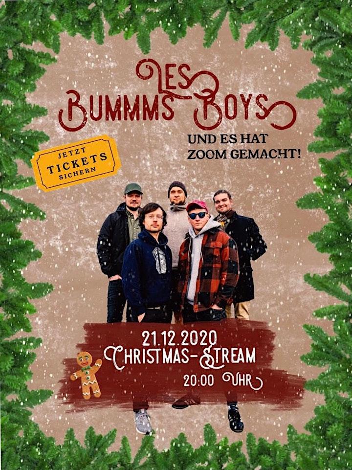 Les Bummms Boys Christmas- Live Stream: Bild