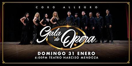 Gala de Ópera Coro Allegro Dirigido por Olivia Carrillo boletos