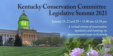 Kentucky Conservation Committee Legislative Summit 2021 tickets