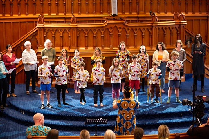 Manawa Ora Children Community Choir image