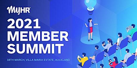 2021 MyHR Member Summit tickets