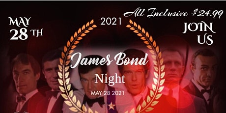 The James Bond Night / Ian Flemings Birthday tickets