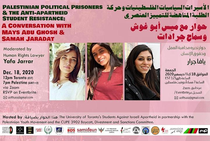 Palestinian Political Prisoners & the Anti-apartheid Student Resistance image
