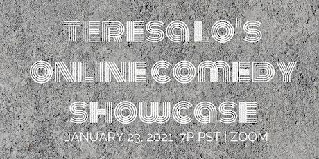 Teresa Lo's Online Comedy Showcase (1.23.21) tickets