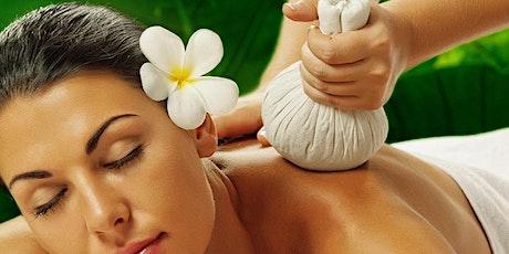 Taller Online - Masajes con Pindas y Aromaterapia entradas