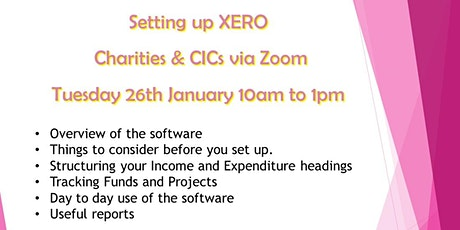 Setting up Xero  for Charities and CICs tickets