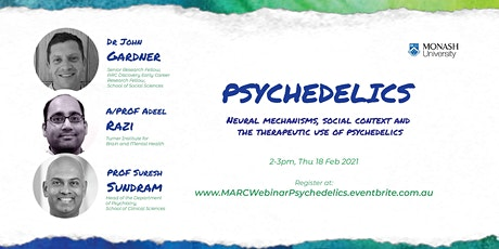 MARC interdisciplinary webinar series: Psychedelics tickets