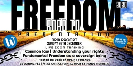 Road to Freedom 4 tickets
