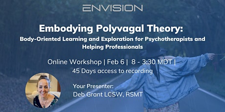 Embodying Polyvagal Theory: Body-Oriented Learning and Exploration tickets