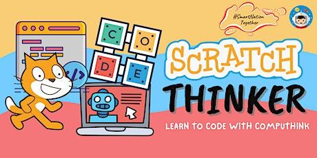 ScratchThinker Programming #SmartNationTogether -16th Jan 2021 tickets